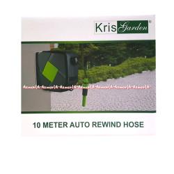 Kris Garden 10Meter Auto Rewind Hose Selang Air Menempel Didinding Tem