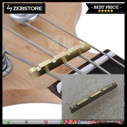 Nut Bass Metal 4 String Gold
