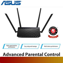 Asus RT-AC1200 V2   Dual-Band Wi-Fi Router with Four Antennas
