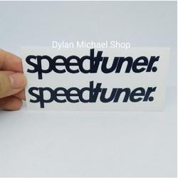 Cutting Sticker Speedtuner Speed Tuner Stiker Mobil Motor Sepeda v2