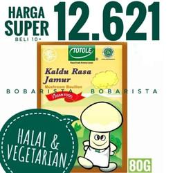 Totole Kaldu Jamur Vegan diet Penyedap Rasa Halal Mushroom Vegetarian
