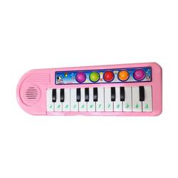 Mainan Piano Anak Pink No 0612