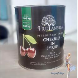 Dark Sweet cherries 3 Kg Premium Buah ceri hitam manis kaleng cherry