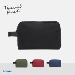 Pouch Hand Bag Travel Tas Organizer Gadget Cordura - Hitam