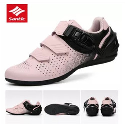 Sepatu Sepeda Santic Wanita Non Cleat Diana LS20014 - Merah Muda, 40