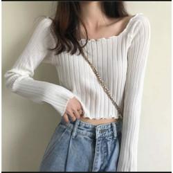Willow Rajut LP White [Baju Atasan Wanita 0133] TK0