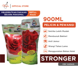 BRM Pelicin dan Pewangi Pakaian Refill Pack 900 ML (Grosir)