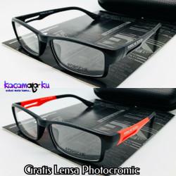 Frame Kacamata Pria Photocromic Anti Radiasi Sporty Minus Porsche P837