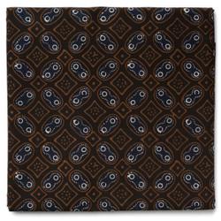 Kain Batik Cap Warna Alam Motif Kawung Kontemporer