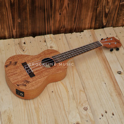Gitar ukulele Cowboy Akustik Elektrik 23inch
