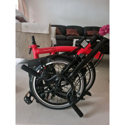 Brompton H6L Rocket Red BE 2020