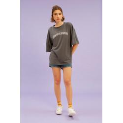 Oversized T-shirt Grey - Mind Yourself
