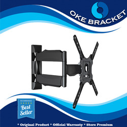 Braket Tv Lengan Swivel, NBP4, Bracket Swifel North Bayou 32-55 Inch