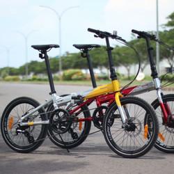 Sepeda lipat 20 Element Police Texas New