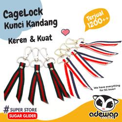 Cage Lock Kunci Kandang Sugar Glider, Hamster, Landak Mini, Burung, dl - Warna Random