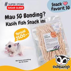 Fish Snack Murah Sugar Glider import Malaysia