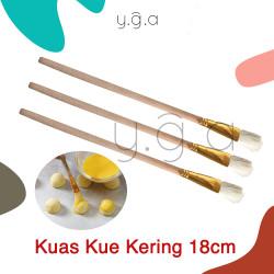 Kuas Olesan Kue Kering 18cm / Kuas Brush Nastar / Kuas Kuning Telur