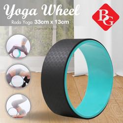 B&G YOGA WHEEL STRETCHING RODA YOGA RILEKS RELAX / RING PILATES BLACK
