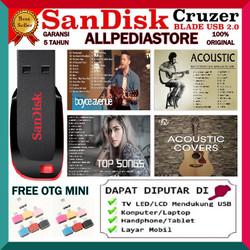 Best Lagu Acoustic 2020 Plus Flashdisk 16GB Bonus Otg
