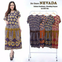 Daster batik base nevada