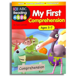 MY FIRST COMPREHENSION age 5-7 ABC Reading Eggs / Buku Import Anak