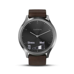 Garmin Vivomove HR Premium Black-Silver garansi tam UKURAN L