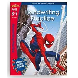 SPIDER-MAN: HANDWRITING PRACTICE AGES 6-7 / Buku Import Anak