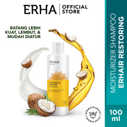 Erhair Restore Shampoo - Perawatan Rambut Kering & Rusa - 250 ML