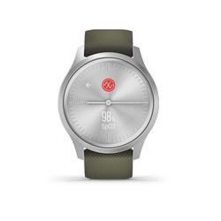 Garmin Vivomove Style - Moss Green with Silver Hardware GARANSI TAM