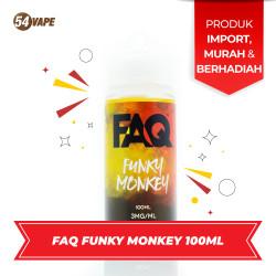 Ejuice FAQ Funky Monkey 100ml USA