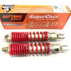 Shock Shockbreaker Daytona Super Cozy 335mm Red Yamaha NMAX