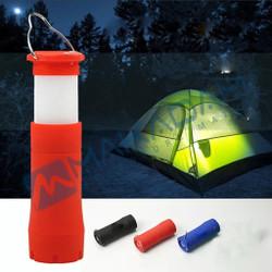 lampu tenda senter lentera gantung camping hiking portable - Biru
