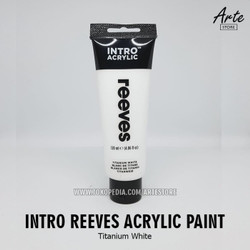 Cat Acrylic Intro Reeves Titanium White 100 ml