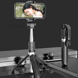 Tongsis Bluetooth Tripod with Mini Remote Control