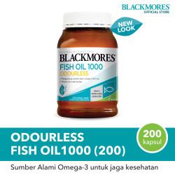 Blackmores Odourless Fish Oil 1000 (200)