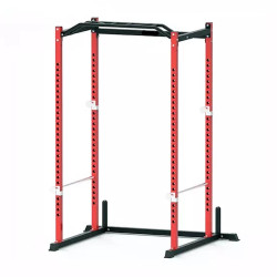 Power Rack TERRA FITNESS Home Use Power Cage bench press squat rack - Merah