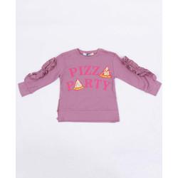 Jsp962 - Kaos Anak Wheres The Food 06- T-shirt (Perempuan, 6-14 Tahun)