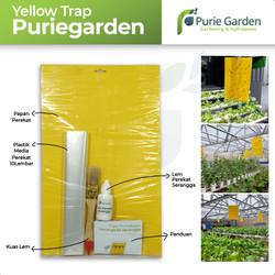 Yellow Trap Lem Perekat Hidroponik/Perangkap Serangga Puriegarden