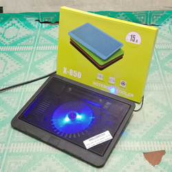 Kipas laptop/Cooling Pad N19/ Coolfan/Cooler Fan Notebook