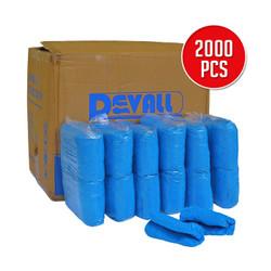 Sarung Sepatu/Cover Sepatu/Medis Devall Disposable Shoe Cover PE Bulk
