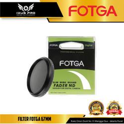 FOTGA 67mm Slim Adjustable Fader Variable ND Filter ND2 To ND400