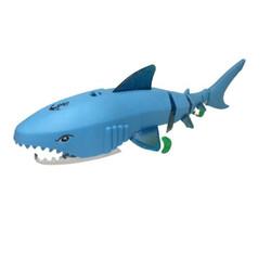 Mainan baby shark- ikan hiu baterai