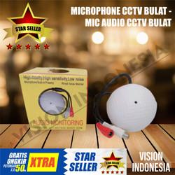 MICROPHONE CCTV BULAT - MIC AUDIO CCTV BULAT