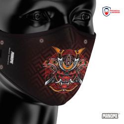 Manome Masker kain 3 Ply Premium ukuran Besar - SAMURAI 1
