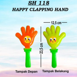 Mainan Happy Clapping Hand Tepuk Tangan No 118