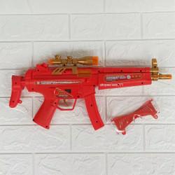 Heroes Vibrate Combat Gun,Besar Mainan Pistol Anak ada suara + lampu +