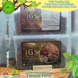 JGS Premium 2kg Pelet kura darat sulcata pardalis makanan kura Torto