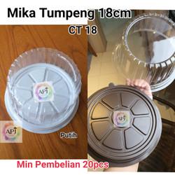 Mika Tumpeng Mini 18cm / Mika Tumpeng D 18 / CT 18 / Mika tumpeng - Cokelat