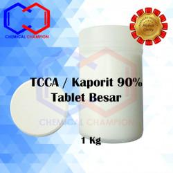 Kaporit Tablet / Klorin Tablet / TCCA Tablet - 90% Tablet Besar 1 Kg
