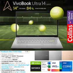 """ASUS VIVOBOOK 14 K413FQ - i7-10510U 8GB 512GB MX350 2GB 14"""" FHD W10"""